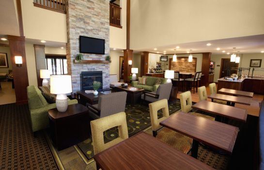 Lobby Staybridge Suites COLUMBUS POLARIS