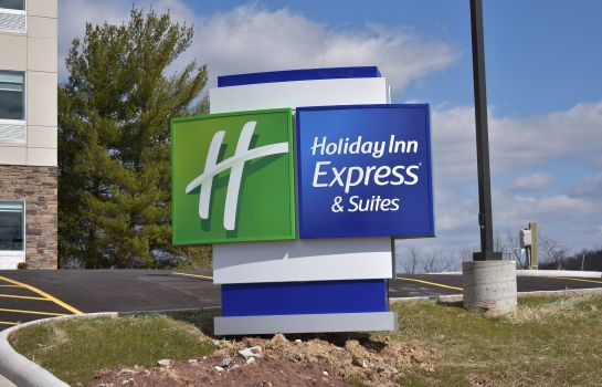Vista esterna Holiday Inn Express & Suites PARKERSBURG EAST