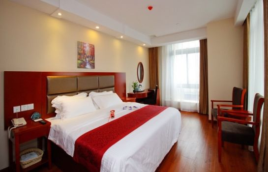 Vista interior GreenTree Inn Hefei South Railway Station Damo Sqaure Business Hotel