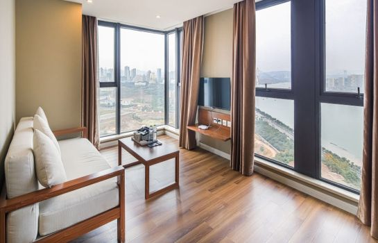 Suite Tujia Sweetome Service Aparment Chongqing Xingyao Tiandi Branch Mainland Chinese Citizens Only
