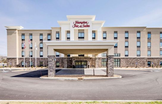Buitenaanzicht Hampton Inn Suites Ashland Ohio