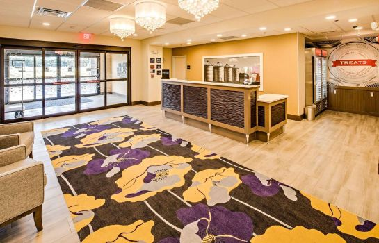 Hall Hampton Inn Suites Ashland Ohio