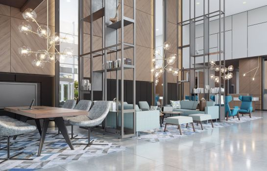 Hol hotelowy Courtyard by Marriott Katowice City Center
