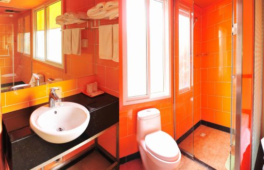 Bagno in camera Tiandirenhe Hotel-Jinan Shanda North Gate Domestic only