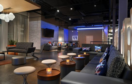 Hotel bar Aloft Columbia Downtown