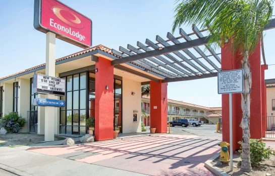 Außenansicht Econo Lodge near Bakersfield Fairgrounds