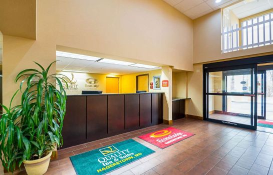 Hotelhal Econo Lodge Hagerstown I-81