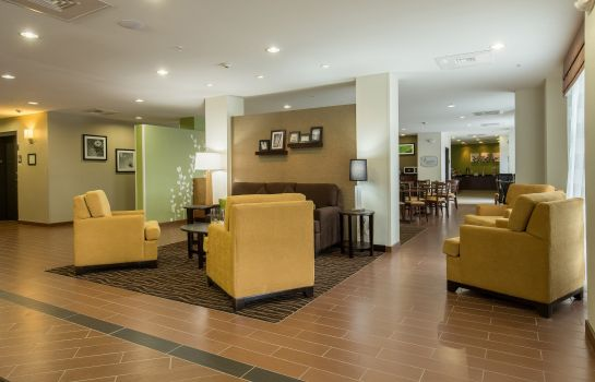 Vestíbulo del hotel Sleep Inn & Suites Ingleside