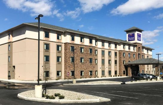 Buitenaanzicht Sleep Inn and Suites Middletown - Goshen