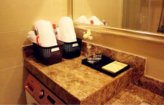 Bagno in camera Yi Jing Apartment Hotel