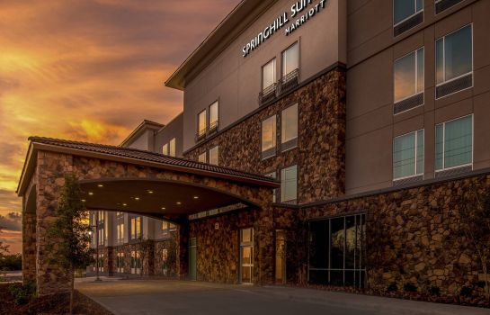 Vista esterna SpringHill Suites Dallas Rockwall