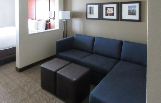 Zimmer Comfort Suites Airport on Meridian