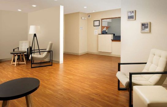 Hall de l'hôtel WOODSPRING SUITES ALLENTOWN