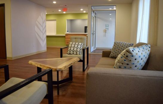 Hol hotelowy WOODSPRING SUITES SIGNATURE LA