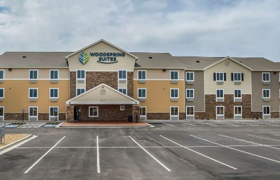 Vista exterior WOODSPRING SUITES BURLINGTON