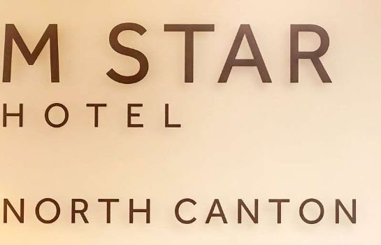 Certificado/logotipo M STAR HOTEL NORTH CANTON