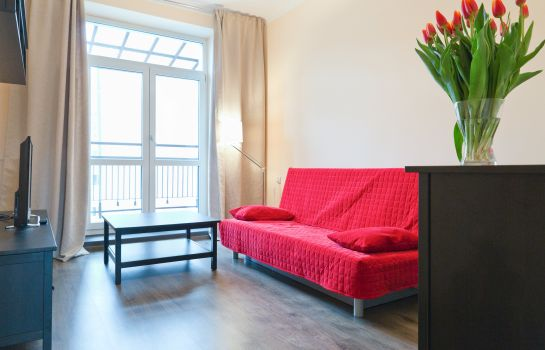 Chambre double (confort) Apartamenty Wawa Centrum by Your Freedom