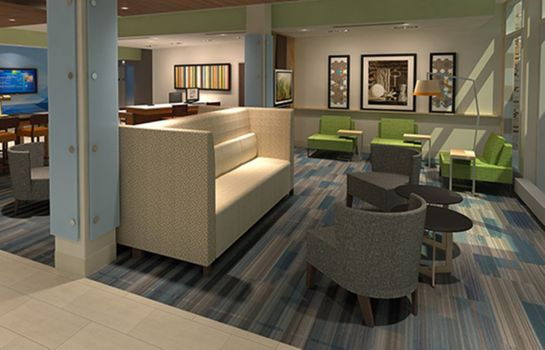 Vestíbulo del hotel Holiday Inn Express & Suites MCALLEN - MEDICAL CENTER AREA