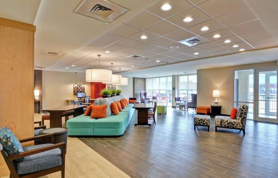 Hotelhalle Home2 Suites by Hilton Meridian MS