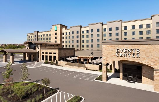 Vista esterna Embassy Suites San Antonio Brooks Hotel - Spa