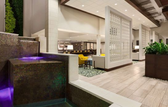 Hol hotelowy Embassy Suites San Antonio Brooks Hotel - Spa