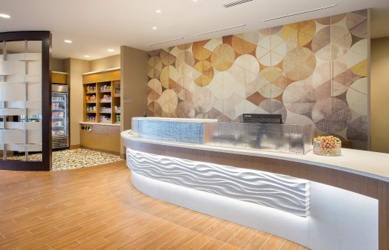 Lobby SpringHill Suites Mt. Laurel Cherry Hill