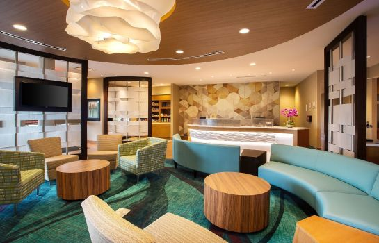 Hall de l'hôtel SpringHill Suites Mt. Laurel Cherry Hill