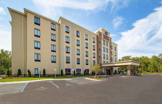 Widok zewnętrzny Comfort Suites Greenville South