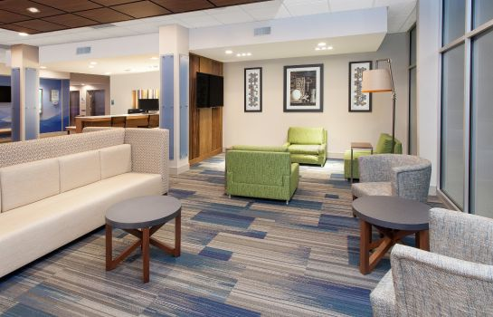 Vestíbulo del hotel Holiday Inn Express & Suites STERLING HEIGHTS-DETROIT AREA