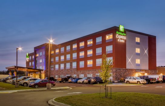 Vista esterna Holiday Inn Express & Suites RICE LAKE