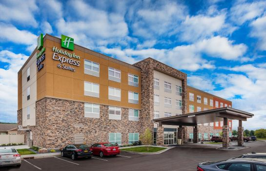 Außenansicht Holiday Inn Express & Suites RICE LAKE