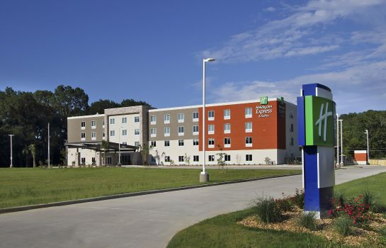 Buitenaanzicht Holiday Inn Express & Suites COLUMBUS NORTH
