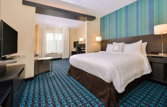 Kamers Fairfield Inn & Suites Raleigh Cary