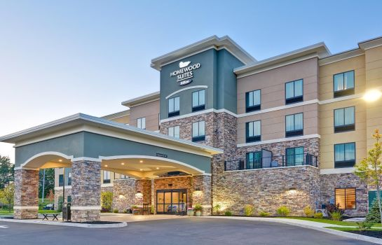 Exterior view Homewood Suites By Hilton New Hartford Utica