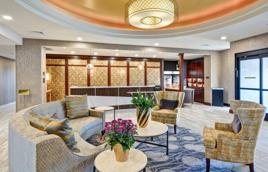 Lobby Homewood Suites By Hilton New Hartford Utica