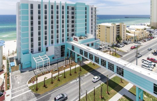 Buitenaanzicht Hampton Inn - Suites Panama City Beach-Beachfront FL