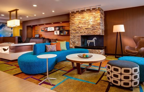 Hall de l'hôtel Fairfield Inn & Suites Des Moines Altoona