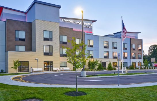 Exterior view TownePlace Suites Cranbury South Brunswick
