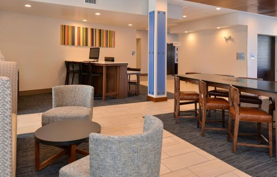 Vestíbulo del hotel Holiday Inn Express & Suites BRIGHTON SOUTH - US 23