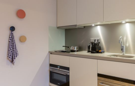 Cucina in camera PREMIER SUITES PLUS Rotterdam