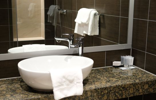 Bagno in camera Hotel Levell