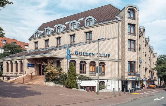 Vista esterna Golden Tulip Bielefeld City
