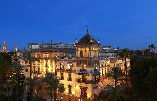 Vista exterior Hotel Alfonso XIII a Luxury Collection Hotel Seville