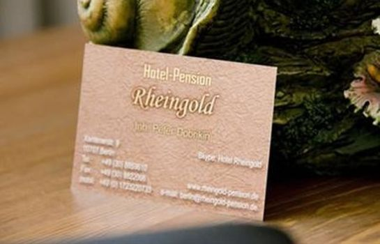 Info Rheingold Pension