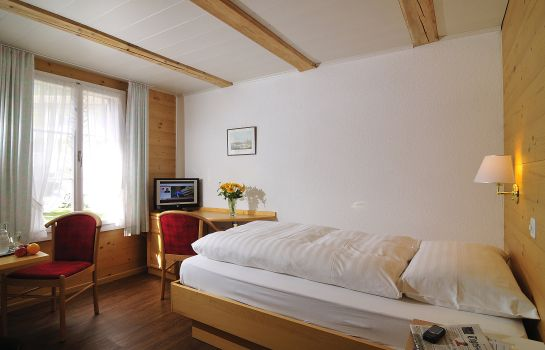 Chambre individuelle (standard) Chalet Swiss