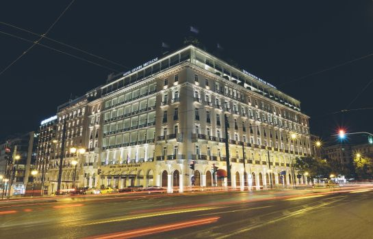 Exterior view Hotel Grande Bretagne a Luxury Collection Hotel Athens