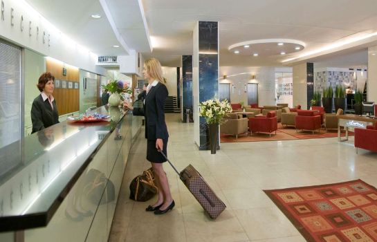 Hotelhalle Best Western Premier Hotel International Brno