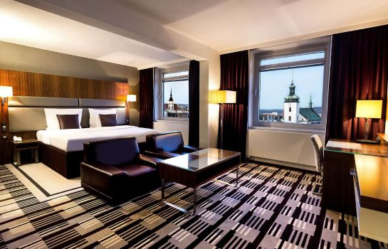Zimmer Best Western Premier Hotel International Brno