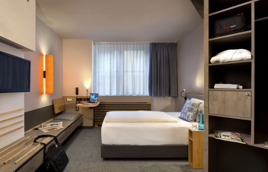 Chambre double (confort) Fleming's Express Hotel Frankfurt