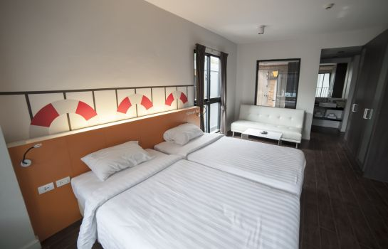 Chambre double (confort) iSanook Residence